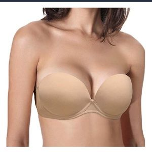 Other - Convertible Padded Push Up Strapless Bra